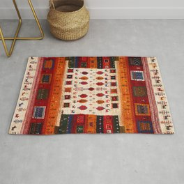 N38 - Epic Bohemian Traditional Andalusian Moroccan Artwork Rug