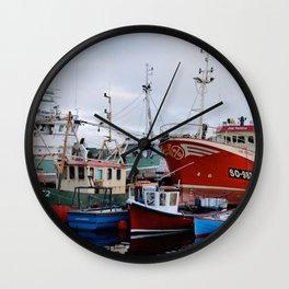 Ship me to Ireland Wall Clock