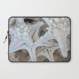 White Starfish Laptop Sleeve