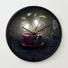 Chlorophyll Corona Wall Clock