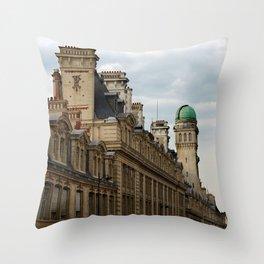 Sorbonne Paris Throw Pillow