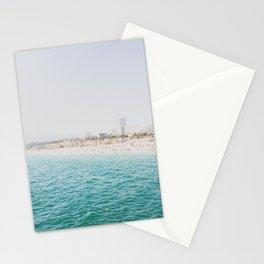 Santa Monica Beach MINT Stationery Cards