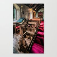 bible Canvas Prints featuring Welsh Bible by Adrian Evans