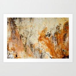 Glacial Striations I Art Print