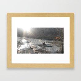 Line Creek Framed Art Print