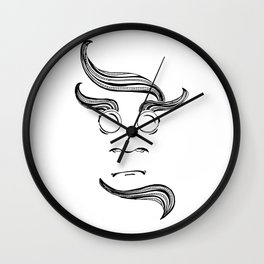 We are Monsters Wall Clock