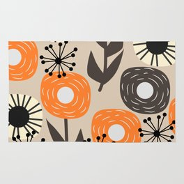 Some happy flowers Rug