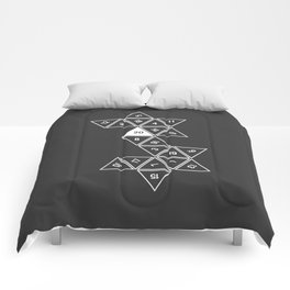Unrolled D20 Comforters