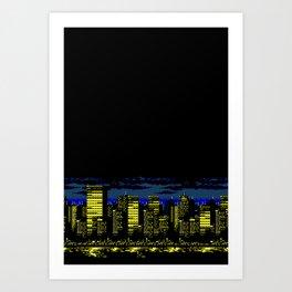 Cityscape I Art Print