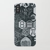 math iPhone & iPod Cases featuring Math Class by Chicca Besso