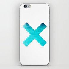 SUMMER OCEAN X iPhone & iPod Skin