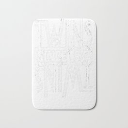 Twins-Since-1937---80th-Birthday-Gifts Bath Mat