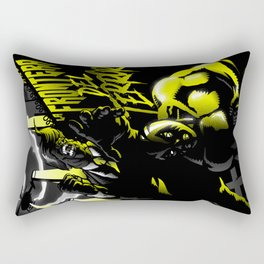 La frontera del terror Rectangular Pillow