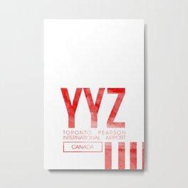 YYZ Metal Print