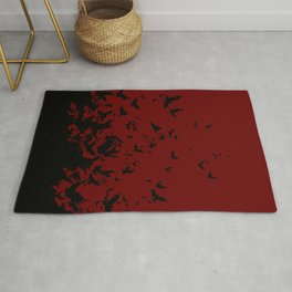 An Unkindness of Ravens Rug