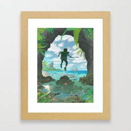 Pan - Classic Edition Framed Art Print