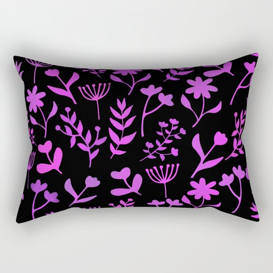 Lovely Pattern XII Rectangular Pillow