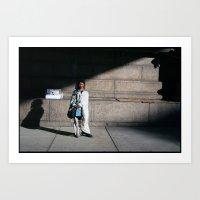 Windy NY Art Print
