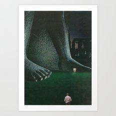 Underfoot Art Print