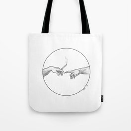 AFTER THE CREATION OF ADAM Tote Bag