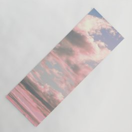 Delicate Sky Yoga Mat