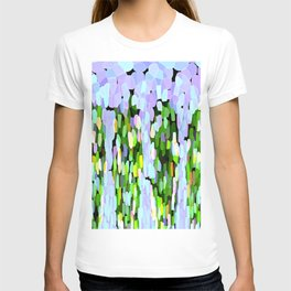 The Sky Is Falling Lavender and Green T-shirt