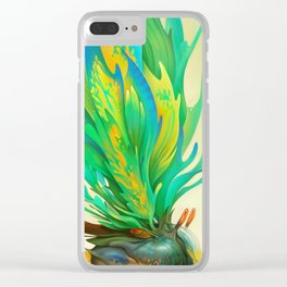 Feathered Tethridon Clear iPhone Case
