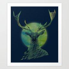 Cervidae Art Print