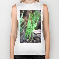 fern Biker Tanks featuring fern by  Agostino Lo Coco