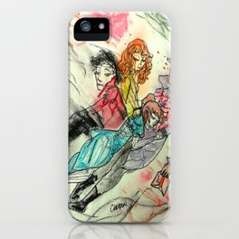 Death and All Her Resting Lovers iPhone Case