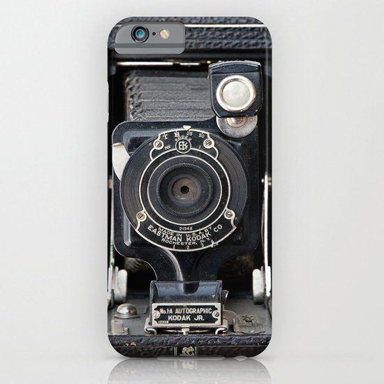 Vintage Autographic Kodak Jr. Camera iPhone & iPod Case
