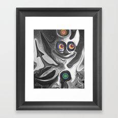 The Anomoly Framed Art Print