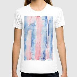 9    190907   Watercolor Abstract Painting T-shirt