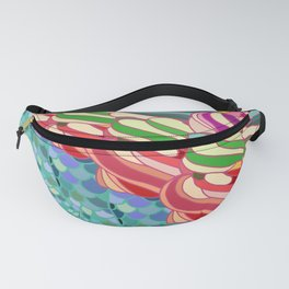 Mermaid Ice Cream Fanny Pack