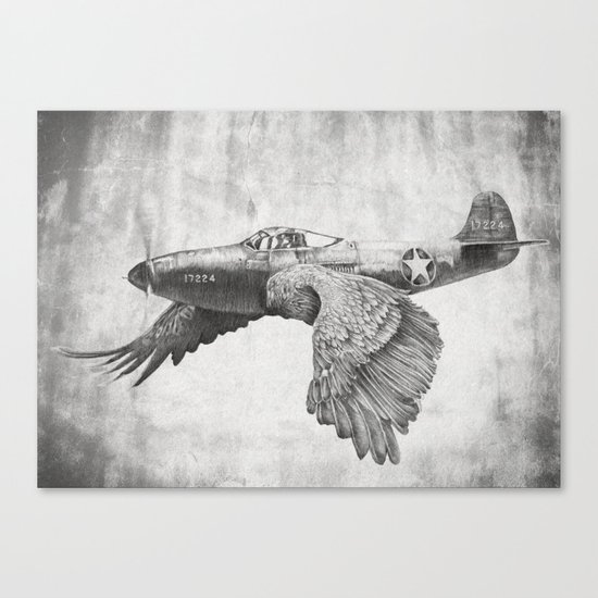 In which it's a bird. It's a plane. Canvas Print
