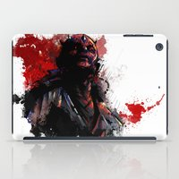 dark side iPad Cases featuring The Dark Side by Vincent Vernacatola