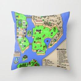 Super Mario NYC Throw Pillow
