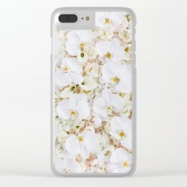 Orchid Dreams Clear iPhone Case