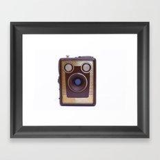 Boxed Camera Framed Art Print