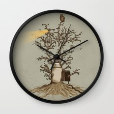Natural Light Wall Clock
