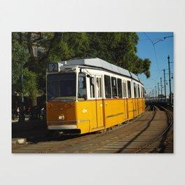 Budapest Tram Canvas Print