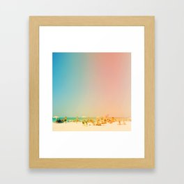Life in the Sun Framed Art Print