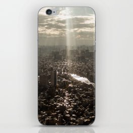 Tokyo View iPhone Skin