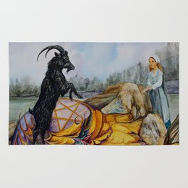 Black Philip Rug