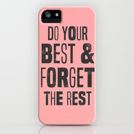 do your best iPhone Case