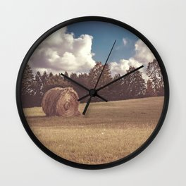 Hay You Wall Clock