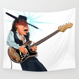 Stevie Ray Vaughan Wall Tapestry