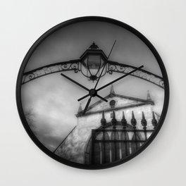 Greyfriars Kirk Cemetery Edinburgh Wall Clock