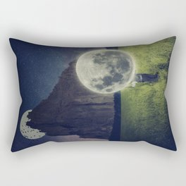 Moon Dealer Rectangular Pillow