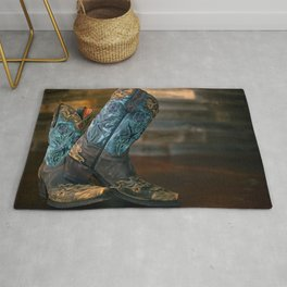 Cowgirl Boots Rug